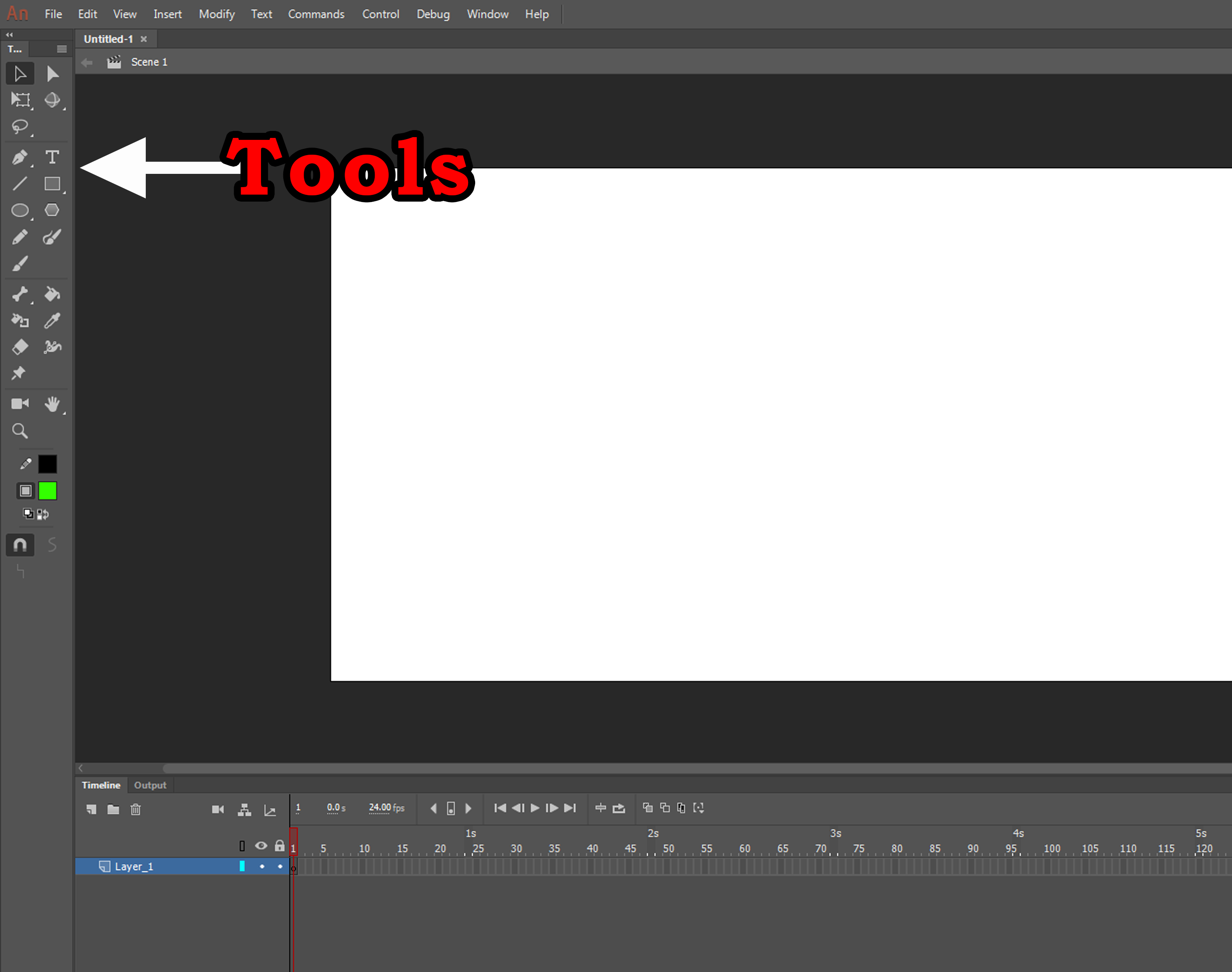 Adobe Animate CC Tools