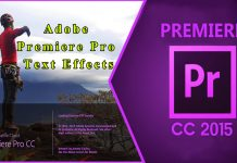 Adobe Premiere Pro Text Effects