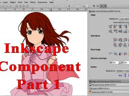 Inkscape Component Part 1