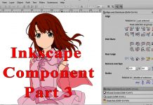 Inkscape Component Part 3