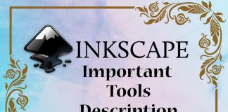 Inkscape Important Tools Description