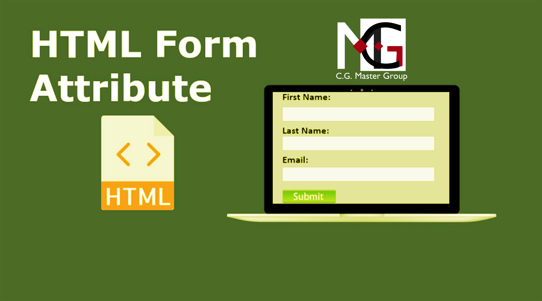 HTML Forms attributes