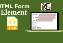 HTML Form Element