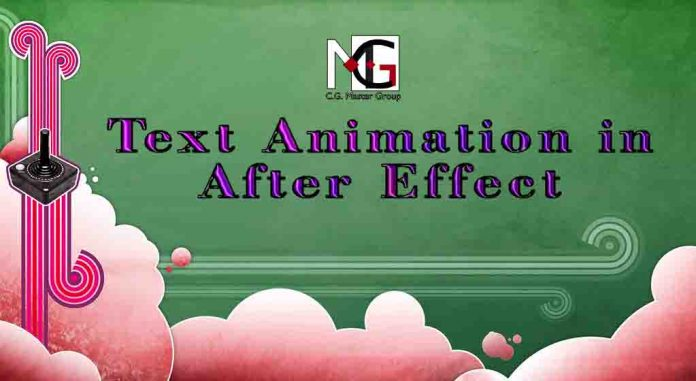 Text Animation in After Effect