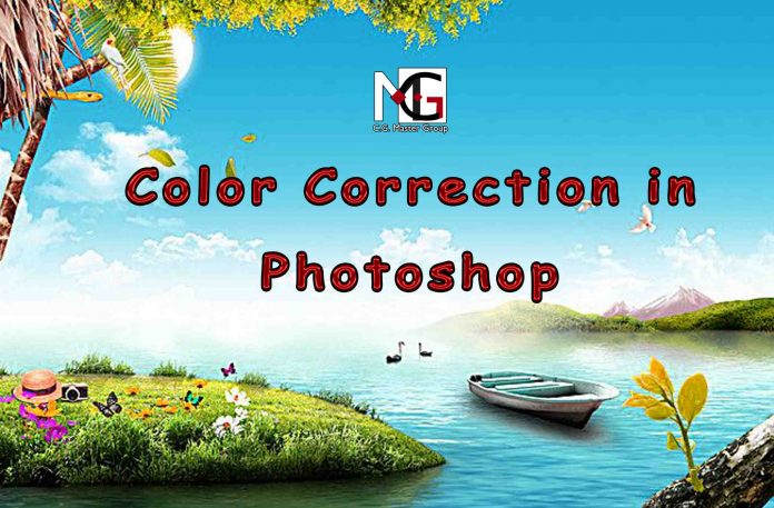 Color Correction in Photoshop,