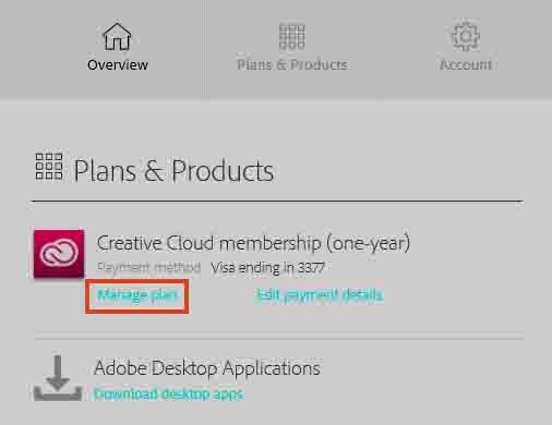 Creative Cloud login