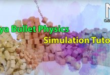 Autodesk Maya Bullet Physics Simulation Tutorial