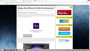 Adobe After Effects Free