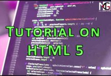 Tutorial On Html