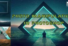 Photo manipulation in Photoshop