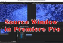 Source Window in Premiere Pro
