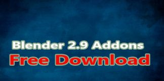 Blender 2.9 Addons Free Download